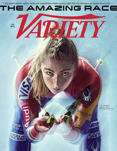 Variety Weekly Magazine Cover
