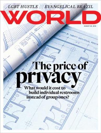 World Magazine Cover