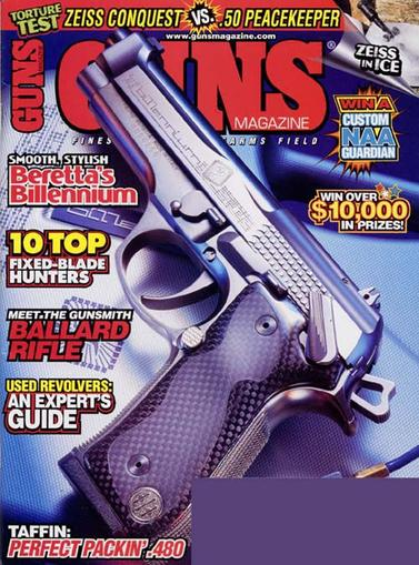 Guns Magazine Cover