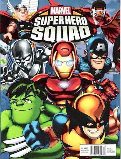 Marvel Super Hero Squad Magazine Cover
