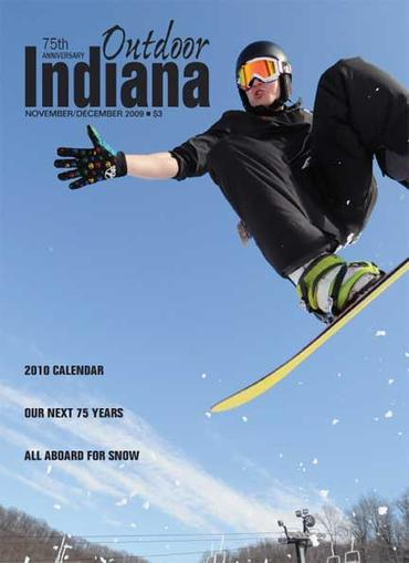 Outdoor Indiana Magazine Cover