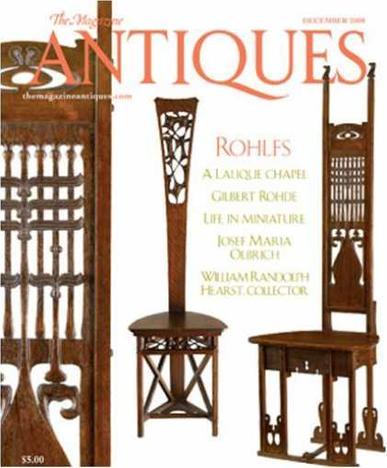 The Magazine Antiques Magazine Cover