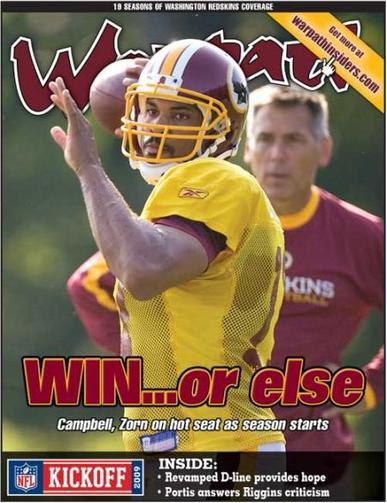 Warpath Magazine Cover