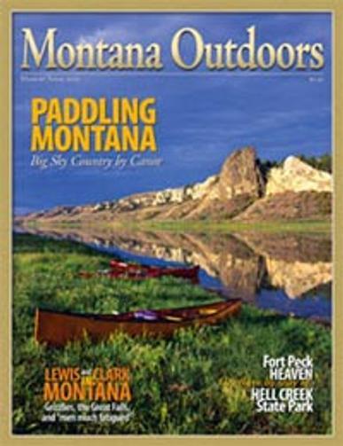 Montana Outdoors Magazine Cover