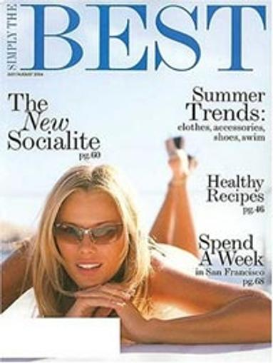 Simply the Best Magazine Cover