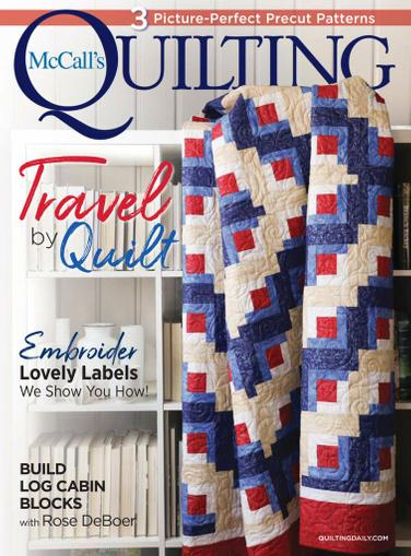 McCall's Quilting Magazine July 1st, 2021 Issue Cover