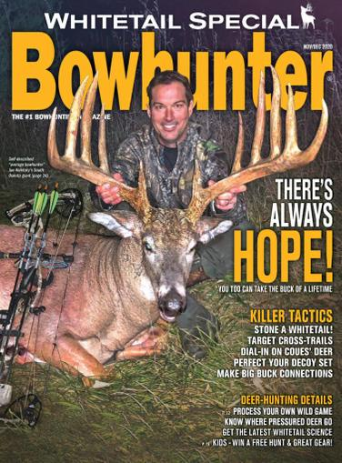 Bowhunter Magazine November 1st, 2020 Issue Cover