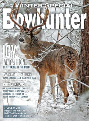 Bowhunter Magazine February 1st, 2021 Issue Cover