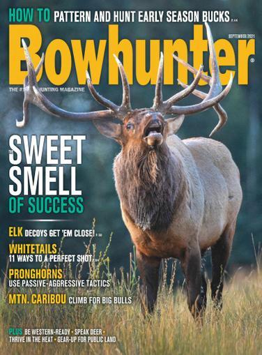 Bowhunter Magazine September 1st, 2021 Issue Cover