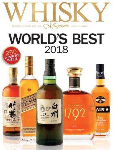 Whisky Magazine April 1st, 2018 Issue Cover