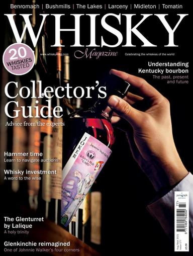 Whisky Magazine August 1st, 2021 Issue Cover