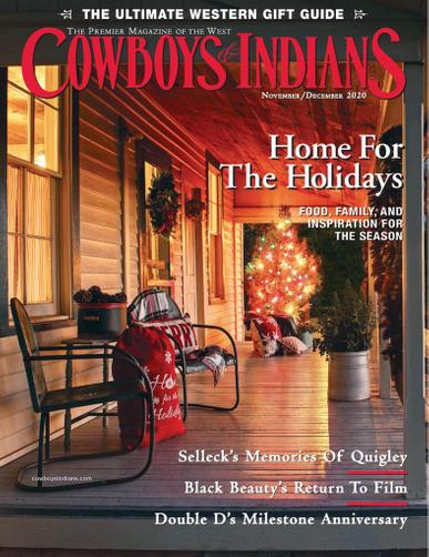 Cowboys & Indians Magazine November 1st, 2020 Issue Cover