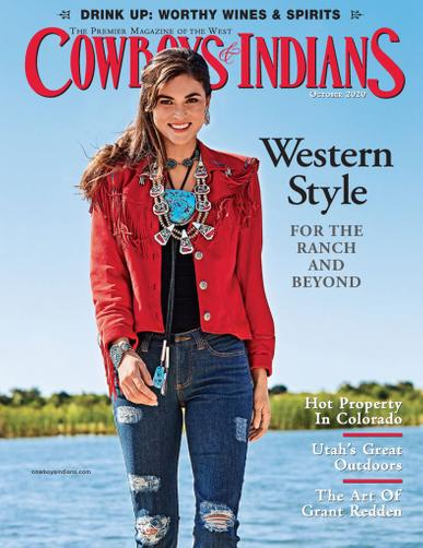 Cowboys & Indians Magazine October 1st, 2020 Issue Cover
