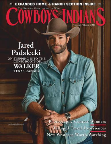 Cowboys & Indians Magazine February 1st, 2021 Issue Cover