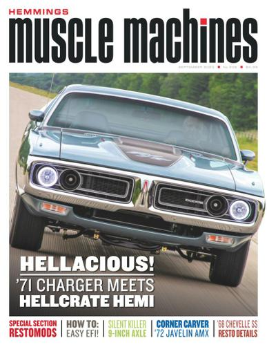 Hemmings Muscle Machines Magazine September 1st, 2020 Issue Cover