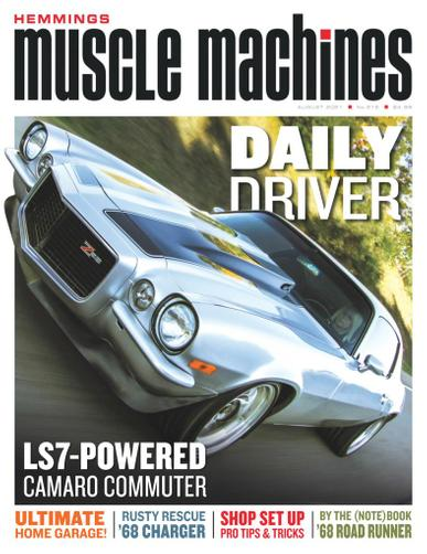 Hemmings Muscle Machines Magazine August 1st, 2021 Issue Cover