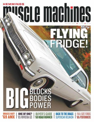 Hemmings Muscle Machines Magazine January 1st, 2021 Issue Cover