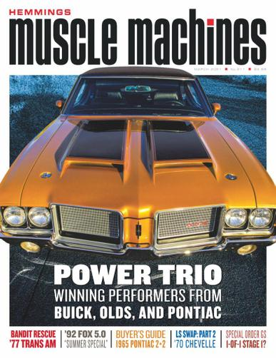 Hemmings Muscle Machines Magazine March 1st, 2021 Issue Cover