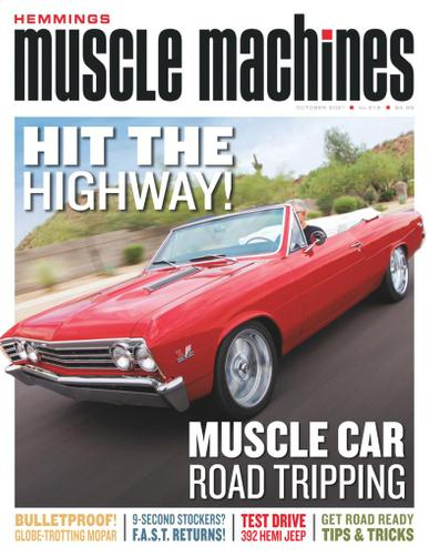 Hemmings Muscle Machines Magazine October 1st, 2021 Issue Cover