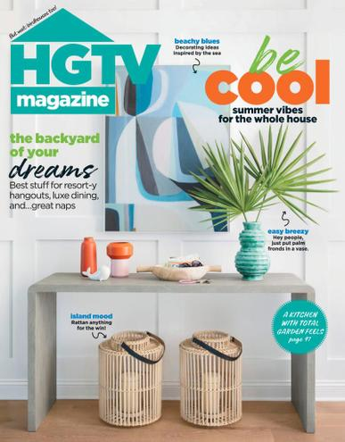 HGTV Magazine July 1st, 2021 Issue Cover