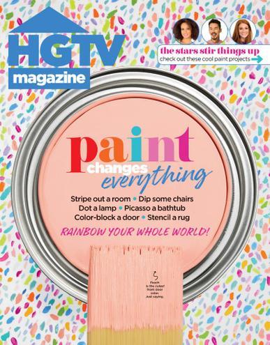 HGTV Magazine June 1st, 2021 Issue Cover