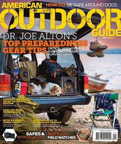 American Survival Guide Magazine September 1st, 2021 Issue Cover