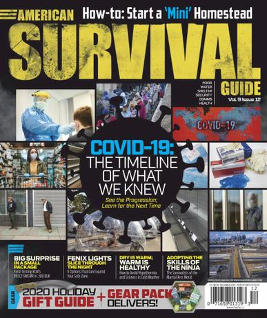 American Survival Guide Magazine December 1st, 2020 Issue Cover