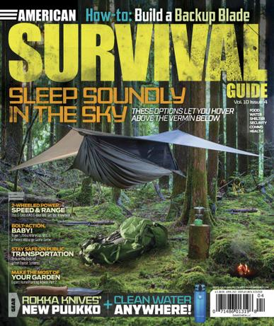 American Survival Guide Magazine April 1st, 2021 Issue Cover