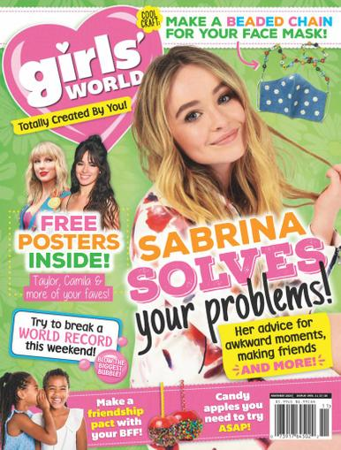 Girls' World Magazine November 1st, 2020 Issue Cover
