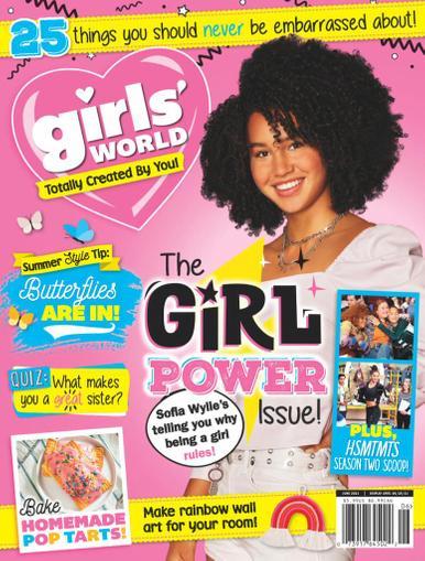 Girls' World Magazine June 1st, 2021 Issue Cover