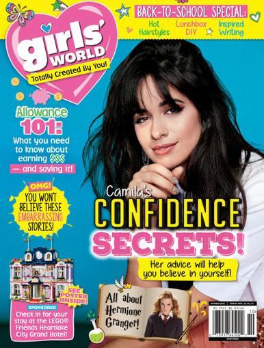 Girls' World Magazine October 1st, 2021 Issue Cover