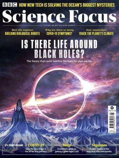 BBC Focus Magazine August 1st, 2020 Issue Cover