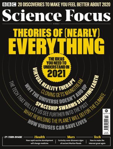 BBC Focus Magazine January 1st, 2021 Issue Cover