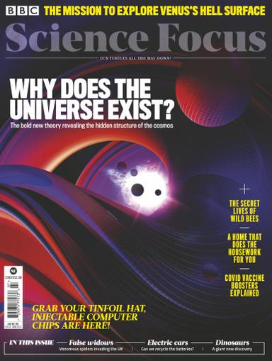 BBC Focus Magazine July 1st, 2021 Issue Cover