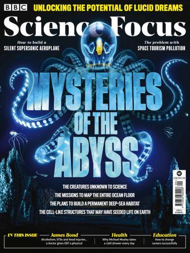 BBC Focus Magazine September 1st, 2021 Issue Cover