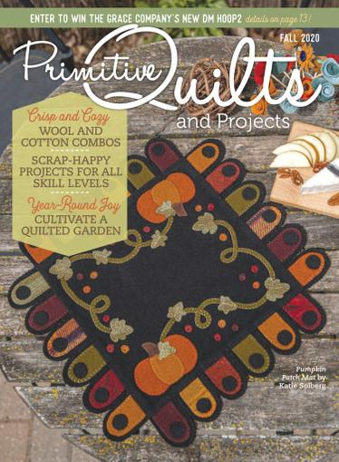 Primitive Quilts & Projects Magazine July 13th, 2020 Issue Cover