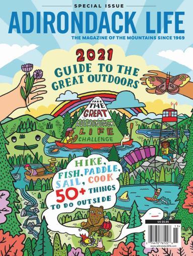 Adirondack Life Magazine May 15th, 2021 Issue Cover