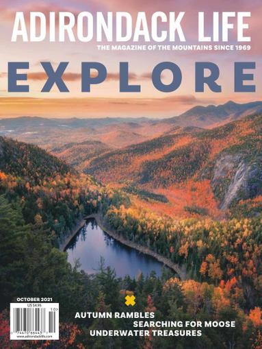 Adirondack Life Magazine September 1st, 2021 Issue Cover