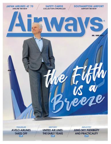 Airways Magazine July 1st, 2021 Issue Cover