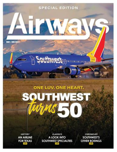 Airways Magazine May 1st, 2021 Issue Cover