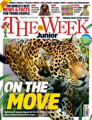 The Week Junior Magazine April 10th, 2021 Issue Cover