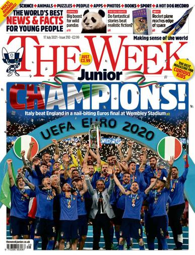 The Week Junior Magazine July 17th, 2021 Issue Cover