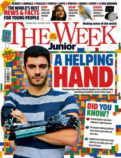 The Week Junior Magazine October 9th, 2021 Issue Cover