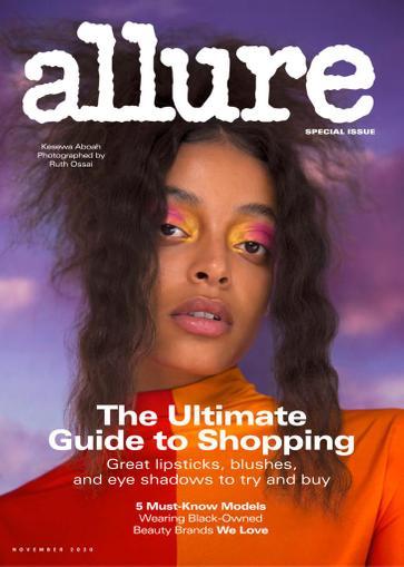 Allure Magazine November 1st, 2020 Issue Cover