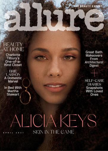 Allure Magazine April 1st, 2021 Issue Cover