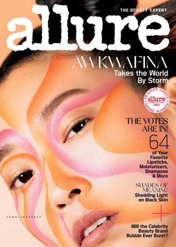 Allure Magazine June 1st, 2021 Issue Cover