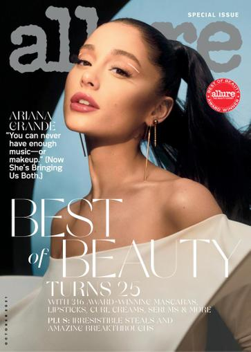 Allure Magazine October 1st, 2021 Issue Cover
