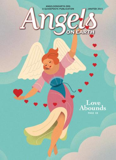 Angels on Earth Magazine January 1st, 2021 Issue Cover