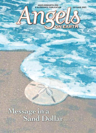 Angels on Earth Magazine July 1st, 2021 Issue Cover