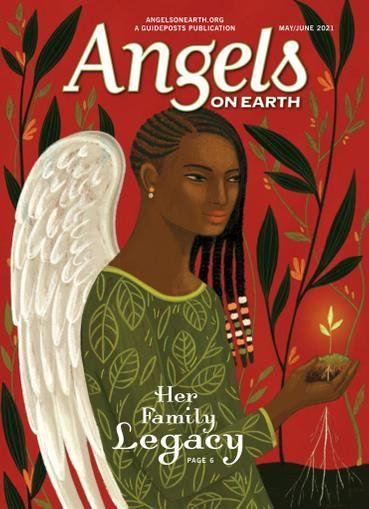 Angels on Earth Magazine May 1st, 2021 Issue Cover